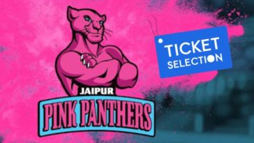Jaipur Pink Panthers Pro Kabaddi Ticket Booking