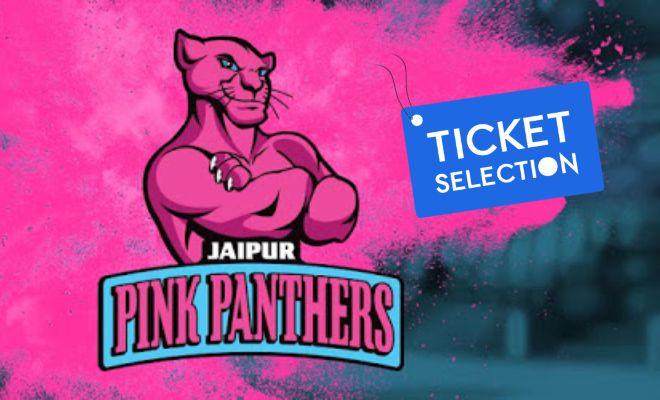 Jaipur Pink Panthers Pro Kabaddi Ticket Booking