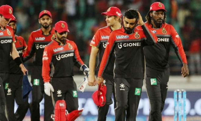 Lowest Team Score RCB Most Embarrassing Records