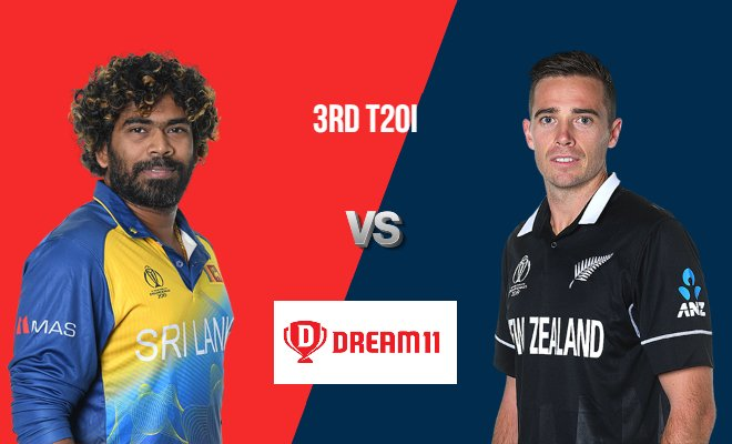 SL vs NZ Dream11 Team Prediction 3rd T20I New Zealand Tour of Sri Lanka 2019