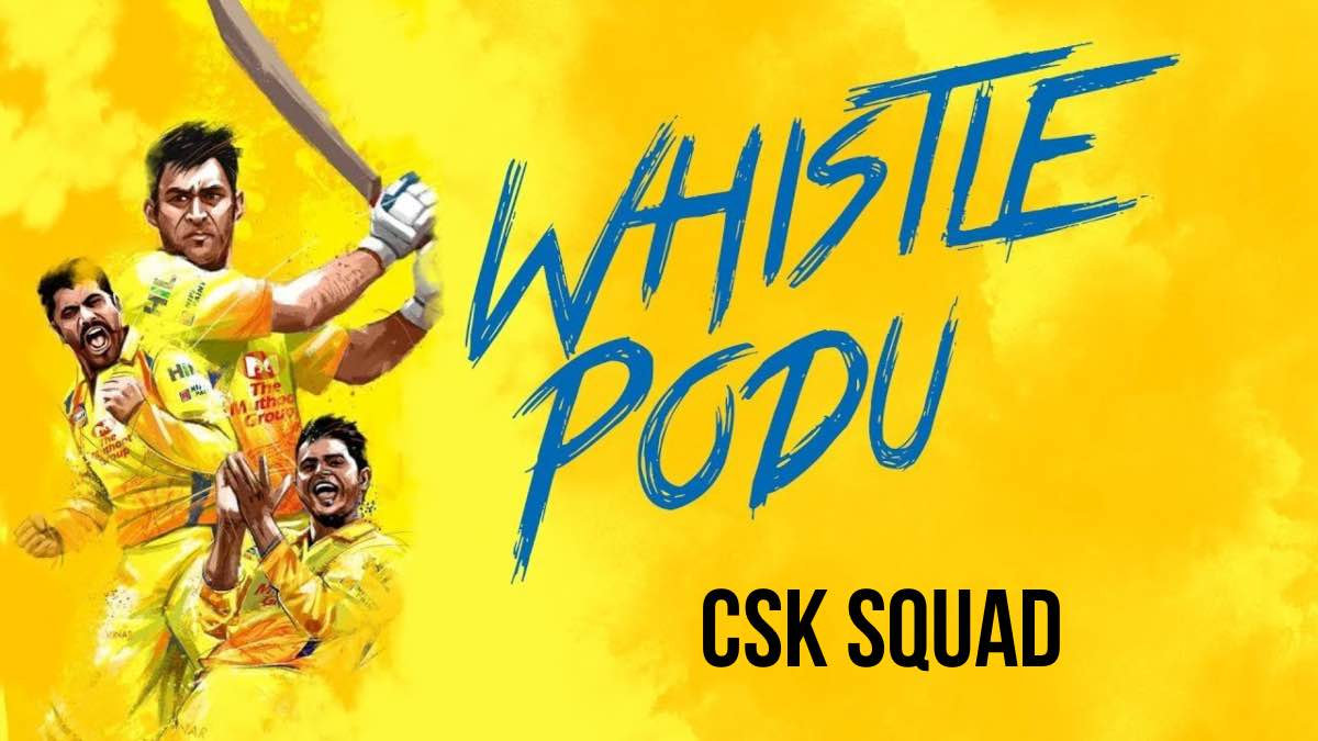 CSK Team Squad for IPL Chennai Super Kings Players List for IPL