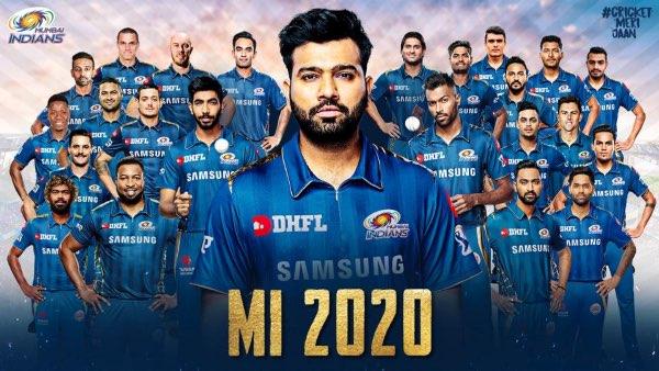 MI Team Squad for IPL 2020