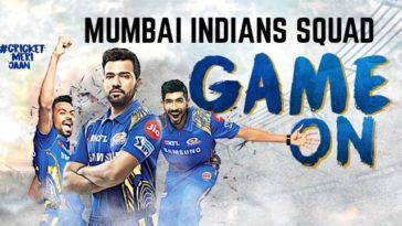 MI Team Squad for IPL Mumbai Indians Players List for IPL