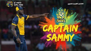 Daren Sammy to lead St Lucia Zouks in CPL 2020