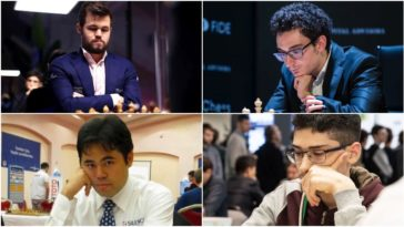 Day 5: Magnus Carlsen invitational online chess tournament: Round 3 Day 1