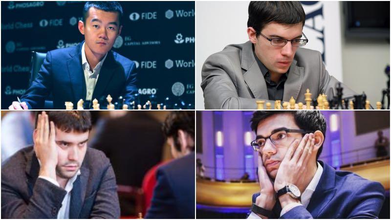 Day 6: Magnus Carlsen invitational online chess tournament: Round 3 Day 2