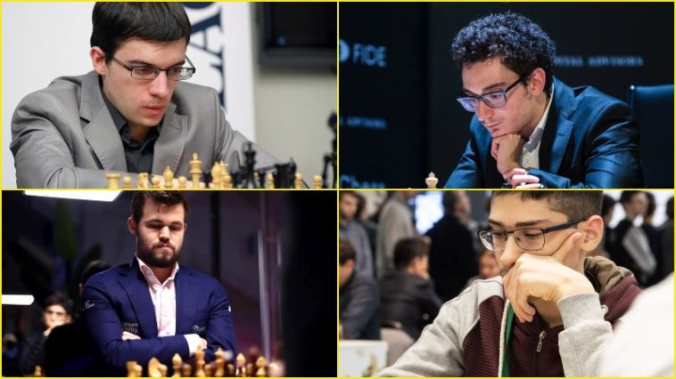 Day 7: Magnus Carlsen invitational online chess tournament: Round 4 Day 1