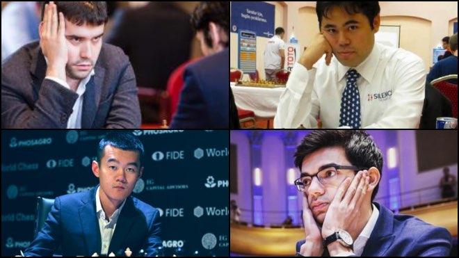 Day 8: Magnus Carlsen invitational online chess tournament: Round 4 Day 2