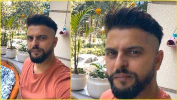 I could not wait Suresh Rainas wife gives him haircut amid lockdown
