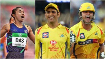 I like CSK because of Dhoni bhaiya and Suresh Raina: Hima Das