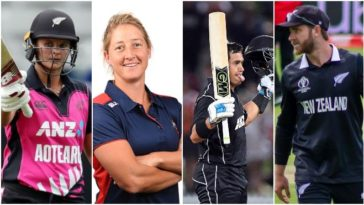 Kane Williamson, Sophie Devine, Suzie Bates and Ross Taylor won New Zealand limited-overs awards