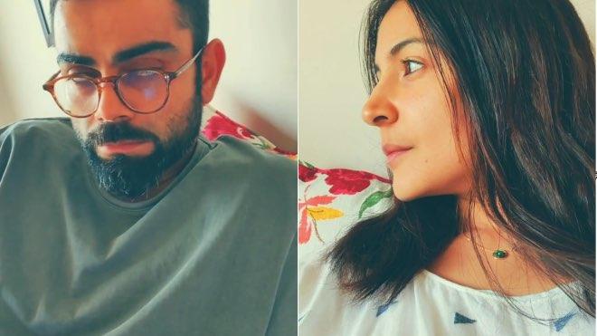 """Kohli chauka Mara na"": Anushka Sharma to Virat Kohli"