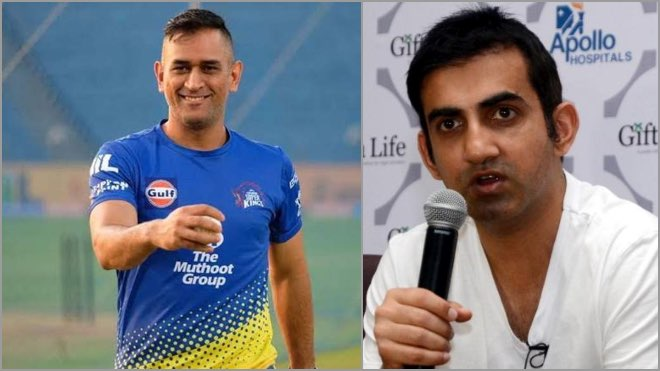 On what basis can MS Dhoni be Selected Gautam Gambhir if IPL 2020 doesnt happen