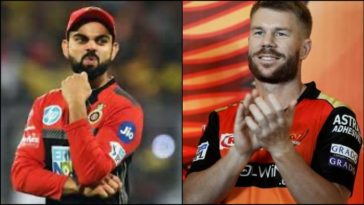 RCB don't have an IPL Trophy. I hope Virat is watching: David Warner