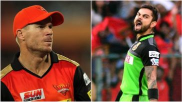 Virat Kohli reply to David Warner's dig for no IPL Trophy