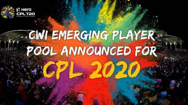Cricket West Indies announced Emerging Players' pool for CPL 2020