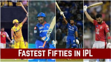 Fastest Fifties in IPL: Players with the Fastest Fifties in IPL history