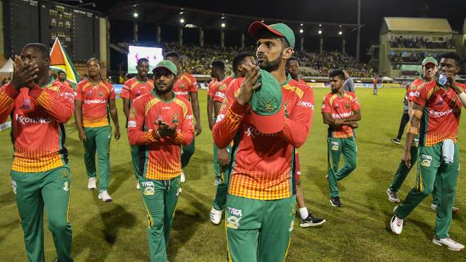 Guyana Amazon Warriors (GAW) announced local players retention for CPL 2020