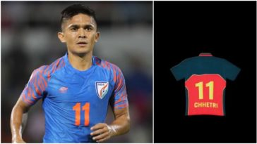 I will only wear RCB jersey: India football team's captain Sunil Chhetri