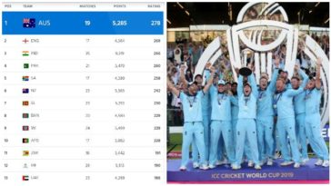 ICC ODI Ranking: England continues to lead, increased their lead over India from 6 to 8 points