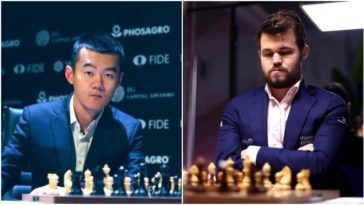 MCI 2nd Semifinal: Carlsen beats Ding Liren to play Hikaru Nakamura in the final