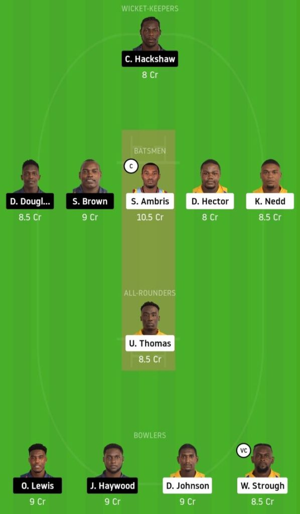 Match 18 SPB vs LSH Dream11 Team Prediction, Playing XI, Top Picks, Captain and Vice-captain