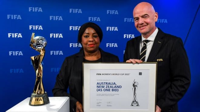 Australia and New Zealand to co-host FIFA Women's World Cup 2023