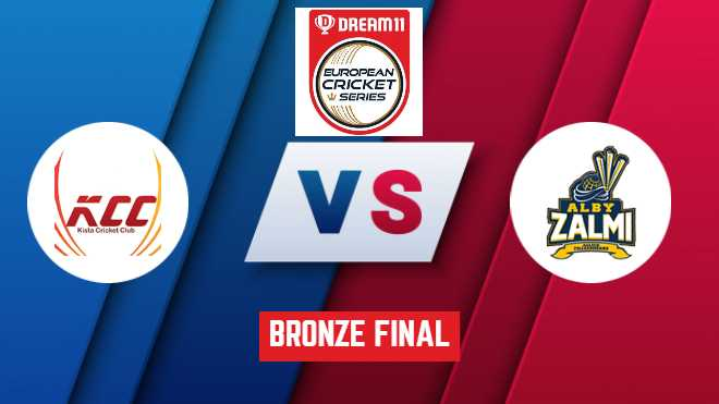 Bronze Final KCC vs ALZ Dream11 Team Prediction: ECS T10 Stockholm: ECS T10 League 2020