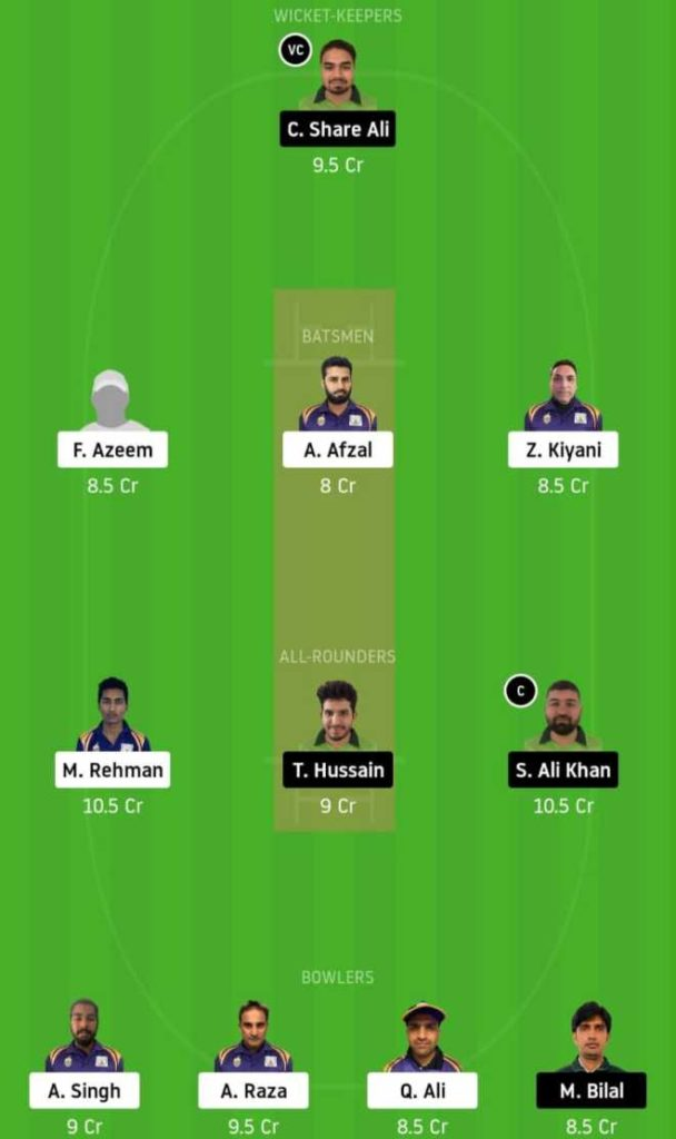 Final SIG vs PF dream11 team prediction, playing xi, top picks, captain and vice-captain