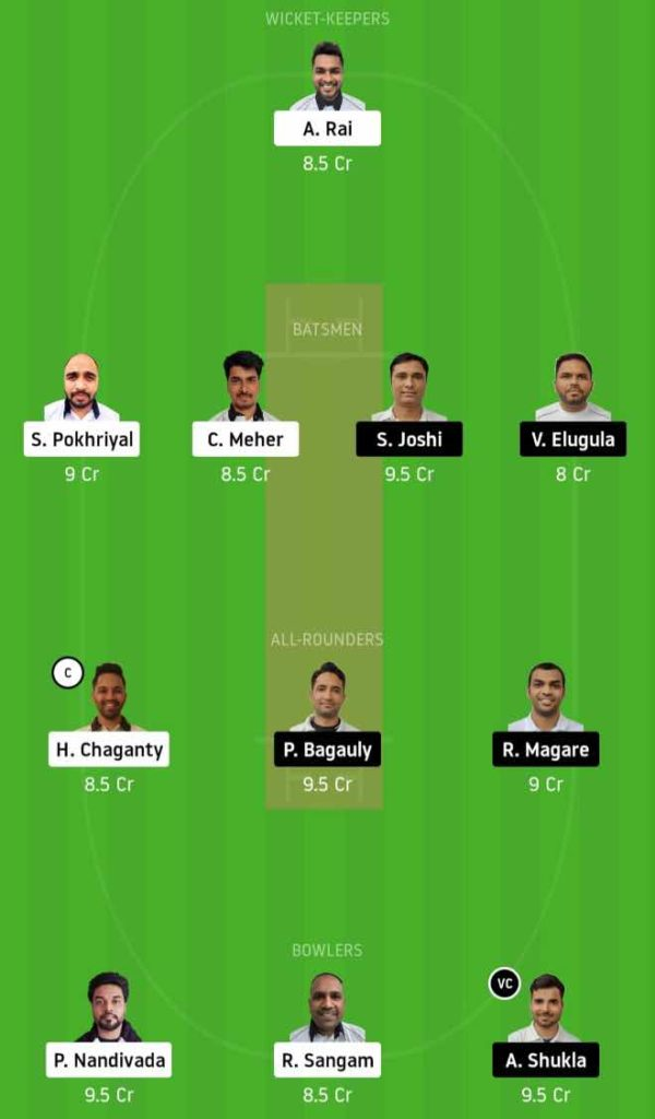 Match 1 PBVI vs UCC dream11 team prediction, playing xi, top picks, captain and vice-captain