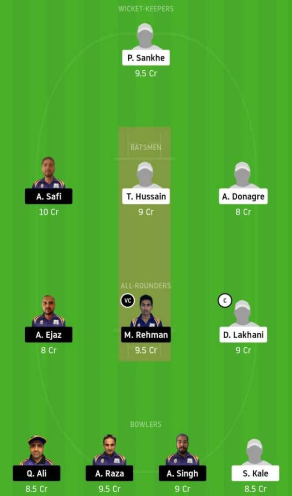 Match 13 SMI vs SIG dream11 team prediction, playing xi, top picks, captain and vice-captain
