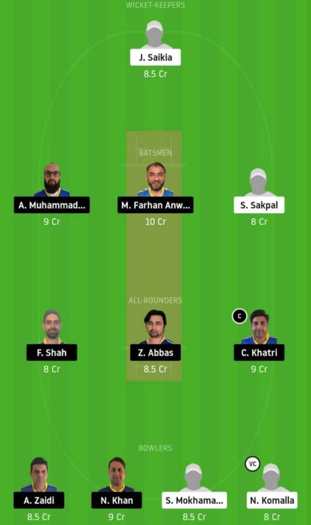 Match 15 STO vs KCC dream11 team prediction, playing xi, top picks, captain and vice-captain