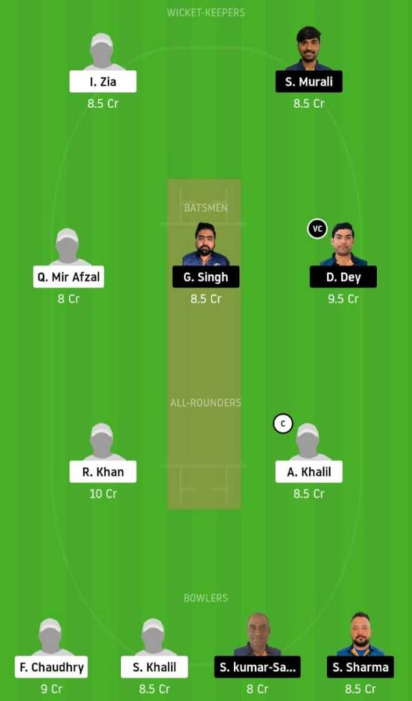 Match 17 ALZ vs IND dream11 team prediction, playing xi, top picks, captain and vice-captain