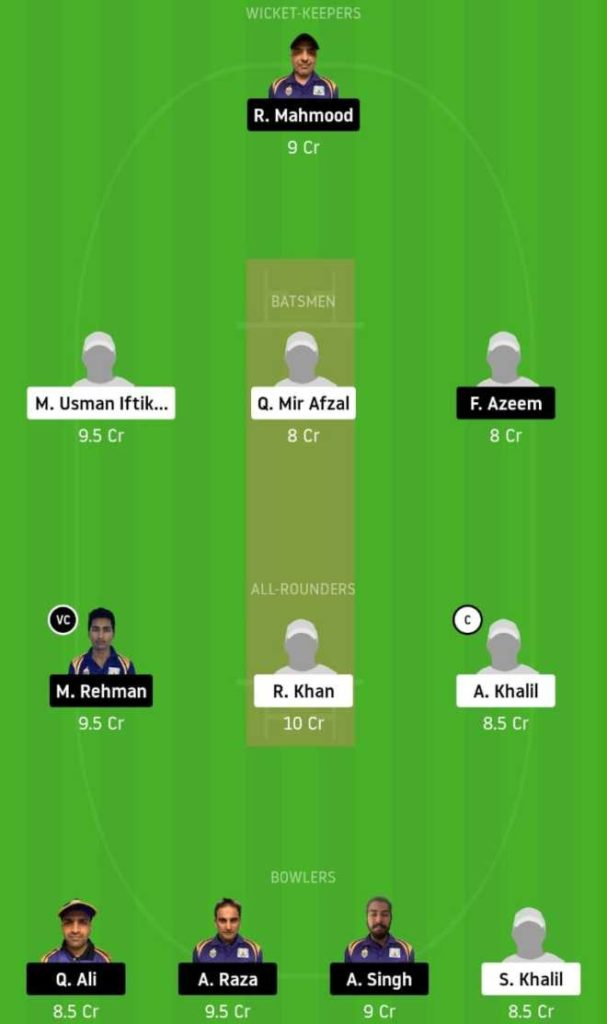 Match 18 ALZ vs SIG dream11 team prediction, playing xi, top picks, captain and vice-captain