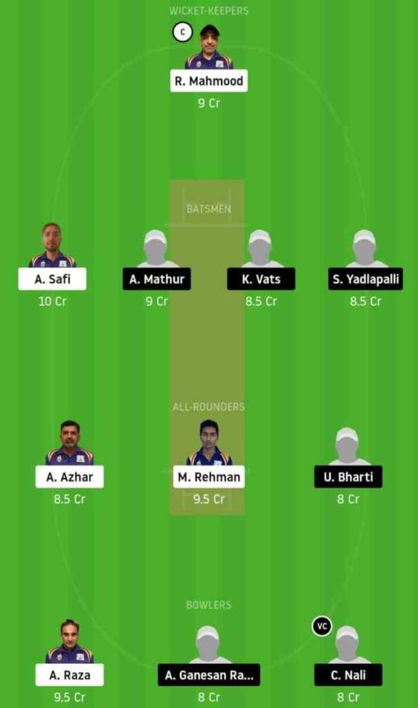 Match 2 SIG vs STO dream11 team prediction, playing xi, top picks, captain and vice-captain