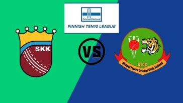 Match 2 SKK vs BTC Dream11 Team Prediction, Playing XI: Finnish Ten10 League 2020
