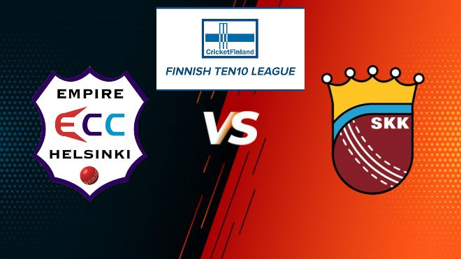 Match 3 ECC vs SKK Dream11 Team Prediction, Playing XI: Finnish Ten10 League 2020