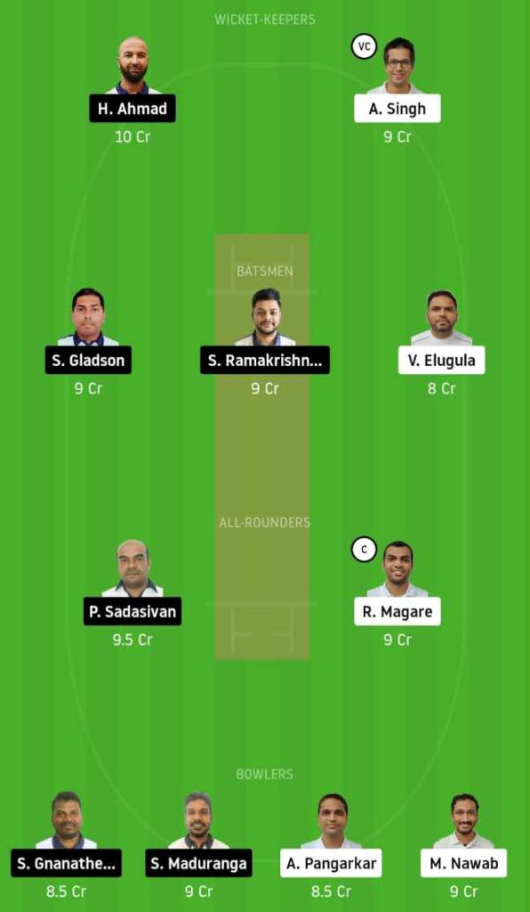 Match 3 UCC vs PCC dream11 team prediction, playing xi, top picks, captain and vice-captain