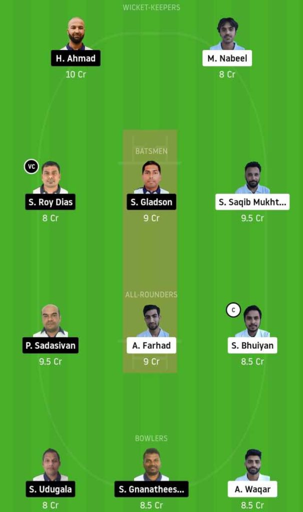 Match 4 BCC vs PCC dream11 team prediction, playing xi, top picks, captain and vice-captain