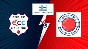 Match 4 ECC vs OCC Dream11 Team Prediction, Playing XI: Finnish Ten10 League 2020