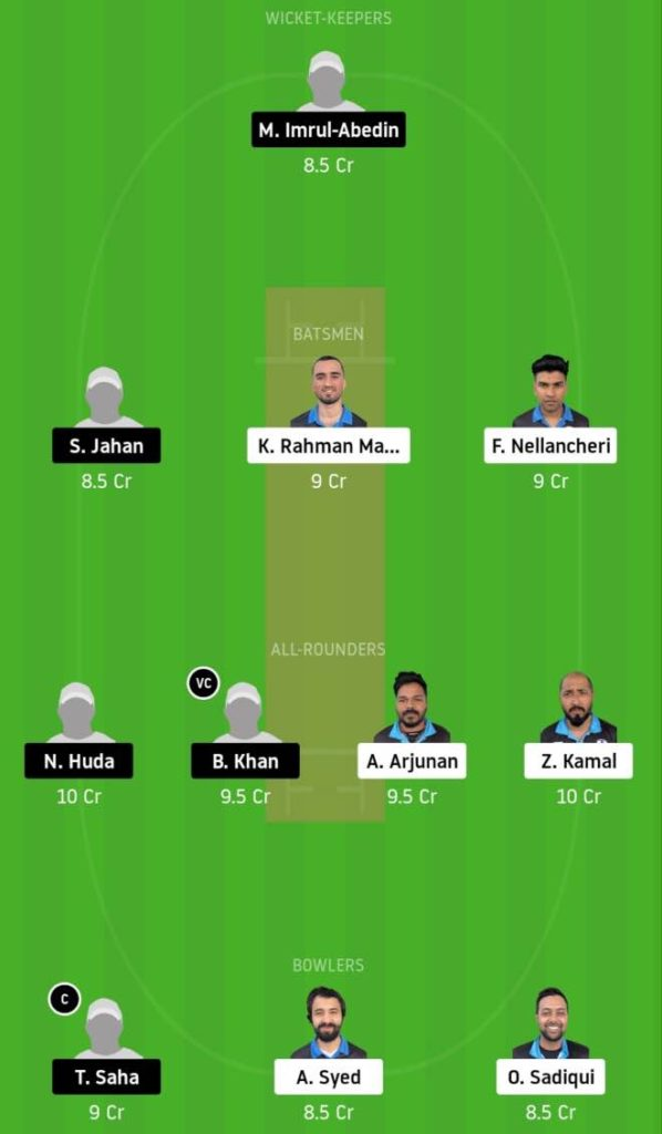 Match 4 HCC vs BTC Dream11 Team Prediction, Playing XI, Top Picks, Captain and Vice-captain