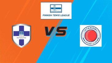 Match 5 HCC vs OCC Dream11 Team Prediction, Playing XI: Finnish Ten10 League 2020
