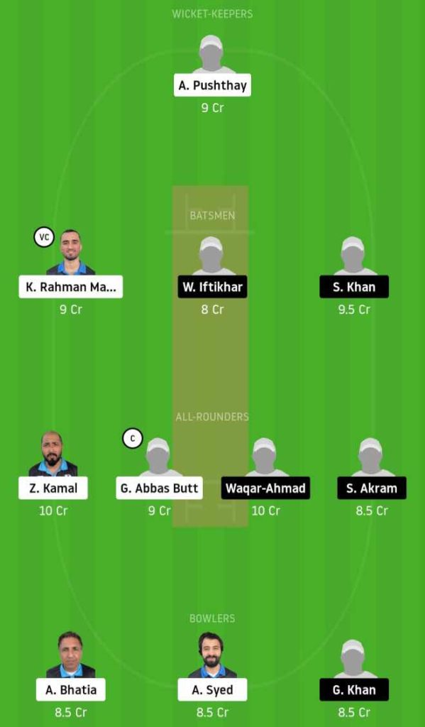Match 5 HCC vs OCC Dream11 Team Prediction, Playing XI, Top Picks, Captain and Vice-captain