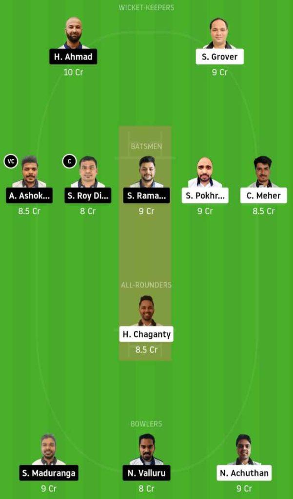 Match 6 PBVI vs PCC dream11 team prediction, playing xi, top picks, captain and vice-captain