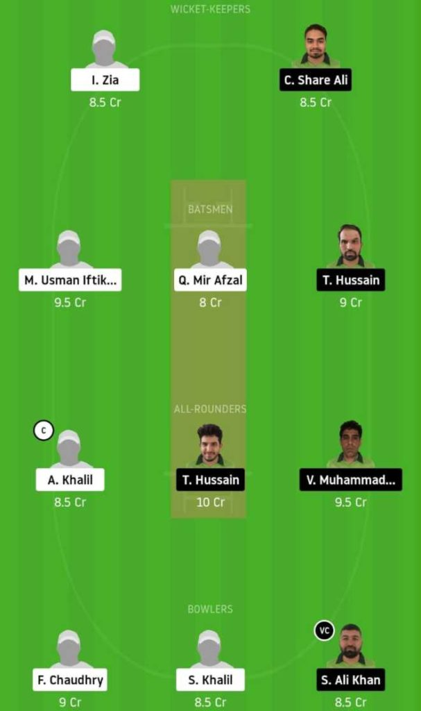 Match 8 ALZ vs PF dream11 team prediction, playing xi, top picks, captain and vice-captain