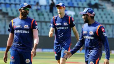 Mumbai Indians starts training for IPL 2020