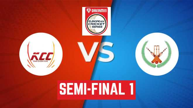 Semi-Final 1 KCC vs SIG Dream11 Team Prediction: ECS T10 Stockholm: ECS T10 League 2020