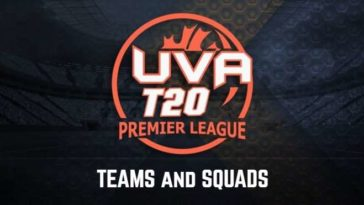 UVA Premier League T20 2020 Teams and Squads