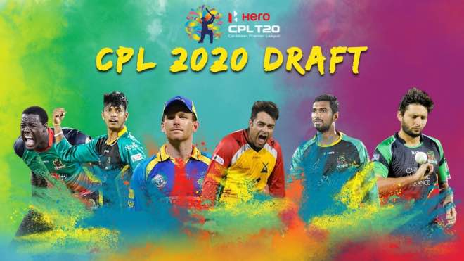 CPL 2020 Draft: Full list of players selected in the draft