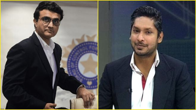 Kumar Sangakkara backs Sourav Ganguly for the ICC chairman post